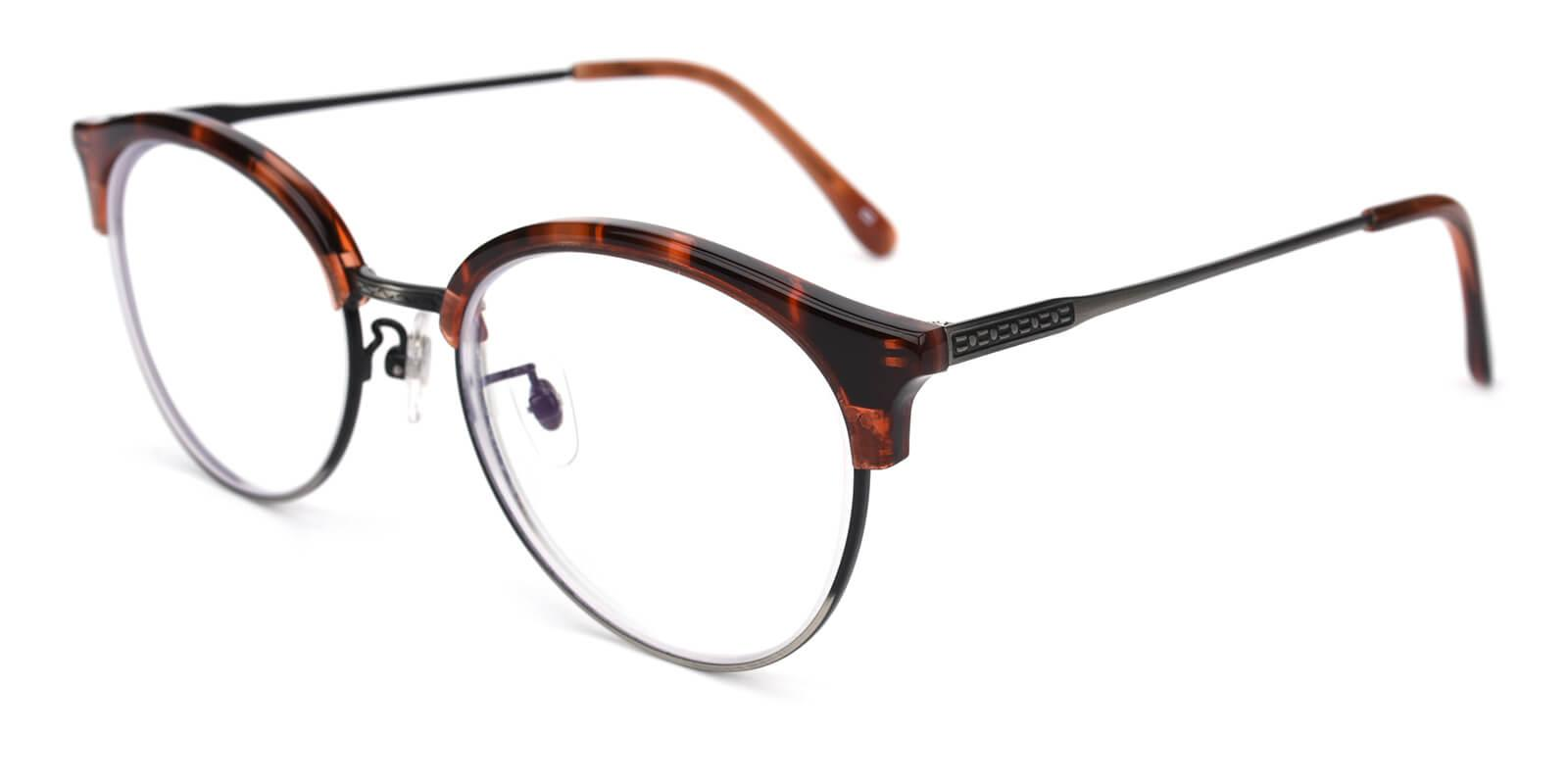 Avenue-Leopard-Browline-Metal / Combination / TR-Eyeglasses-additional1