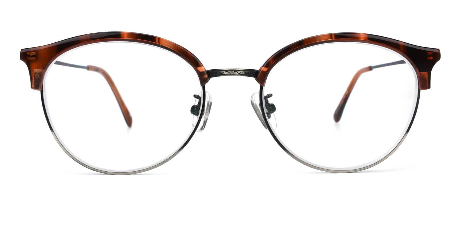 Avenue-Leopard-Browline-Metal / Combination / TR-Eyeglasses-additional2