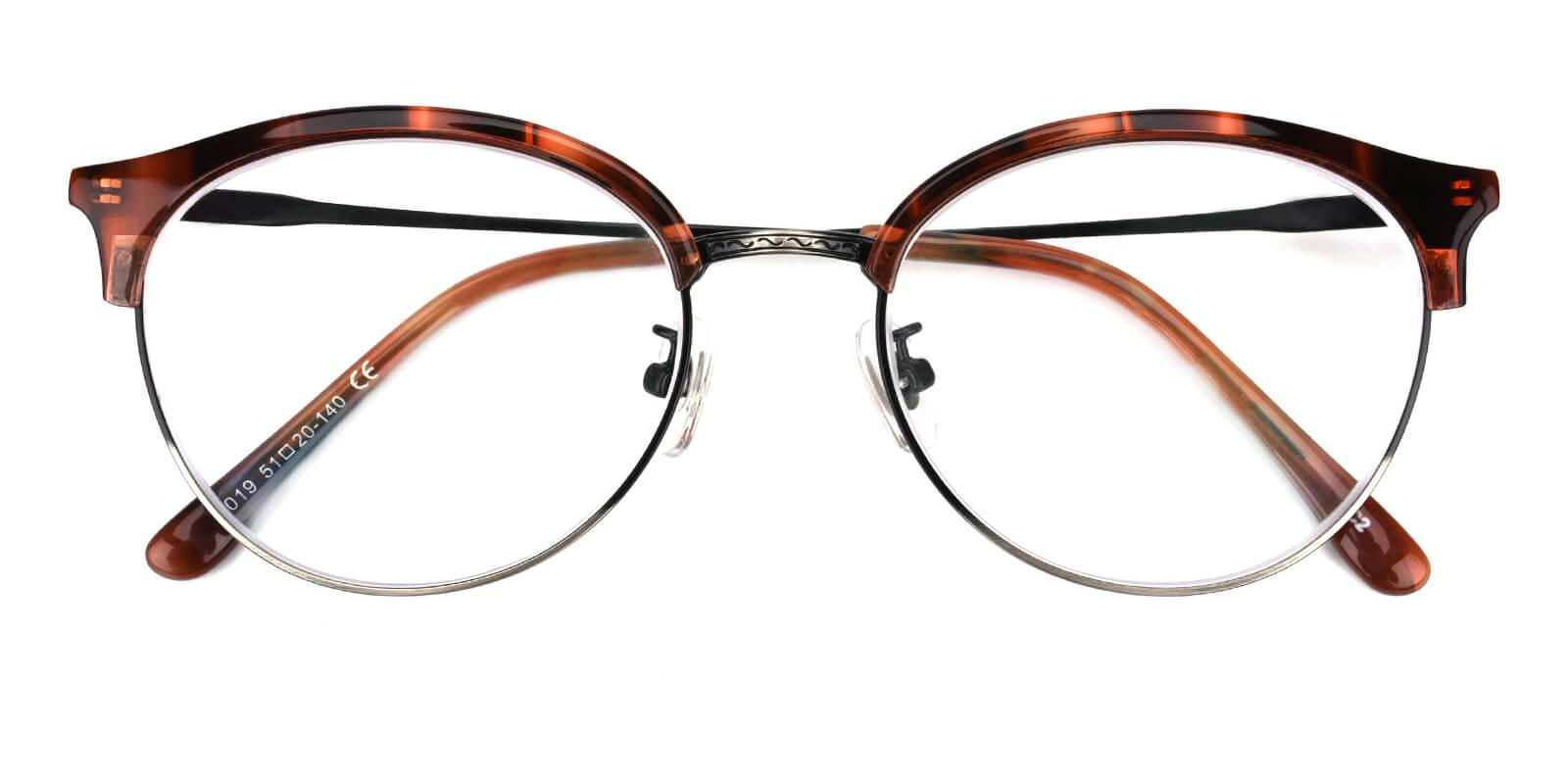 Avenue-Leopard-Browline-Metal / Combination / TR-Eyeglasses-detail