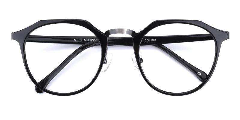 Intense-Black-Eyeglasses