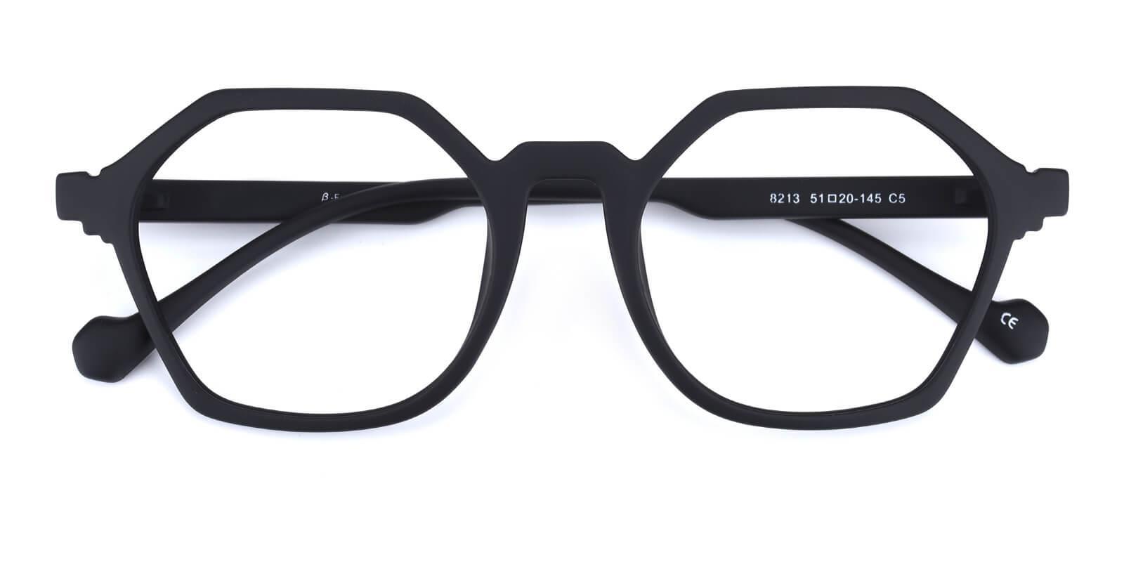 Mabuli-Black-Geometric-TR-Eyeglasses-detail