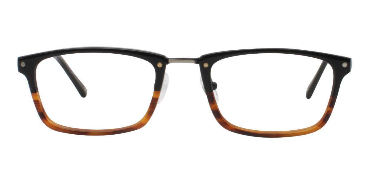 Lightweight Rectangle Glasses 180827037-Tortoise-Rectangle-TR-Eyeglasses-detail