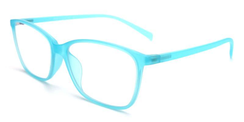 Hecaba-Blue-Eyeglasses / Lightweight / UniversalBridgeFit