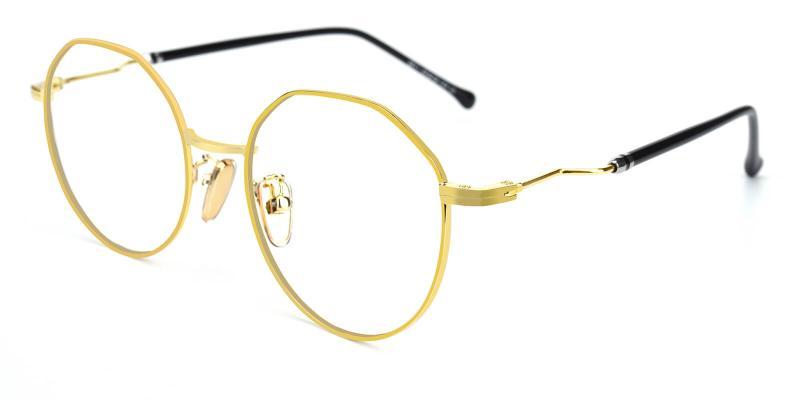 Clarker-Gold-Eyeglasses / NosePads