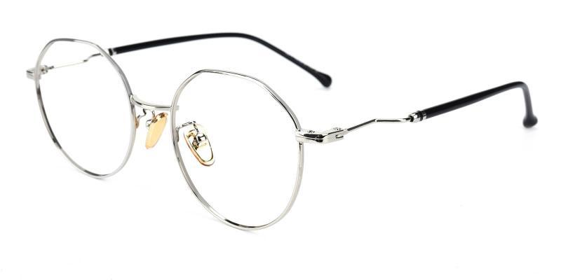 Clarker-Silver-Eyeglasses