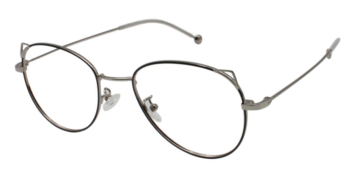 -Silver-Cat-Metal-Eyeglasses-additional1