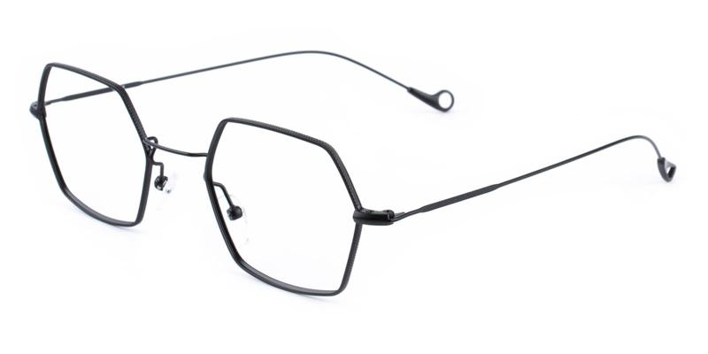 Goldien-Black-Eyeglasses