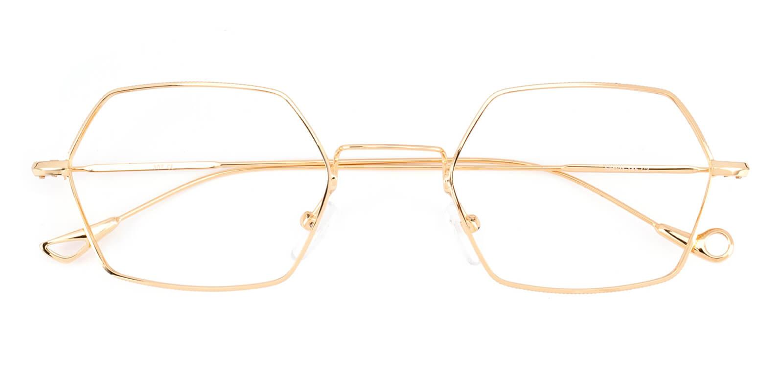 Goldien-Gold-Geometric-Metal-Eyeglasses-detail