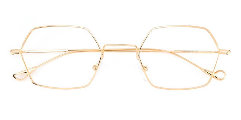 Goldien-Gold-Eyeglasses