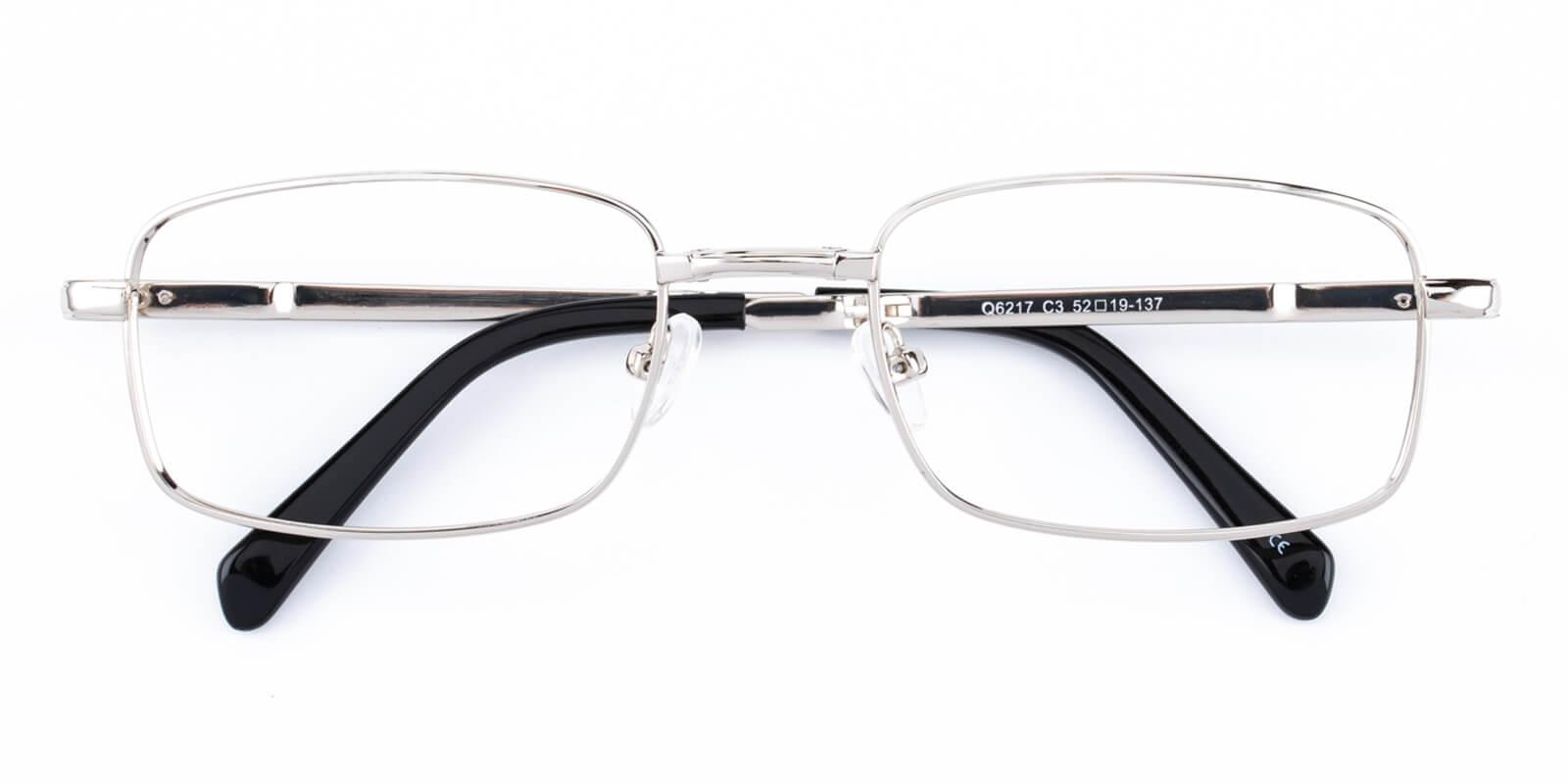 Norfolk-Silver-Rectangle-Metal-Eyeglasses-detail