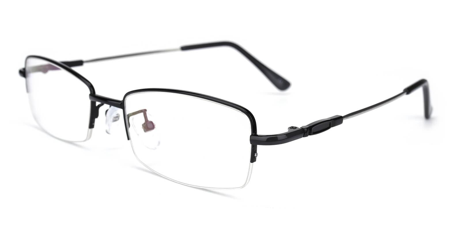 Healdton-Black-Rectangle-Metal-Eyeglasses-additional1