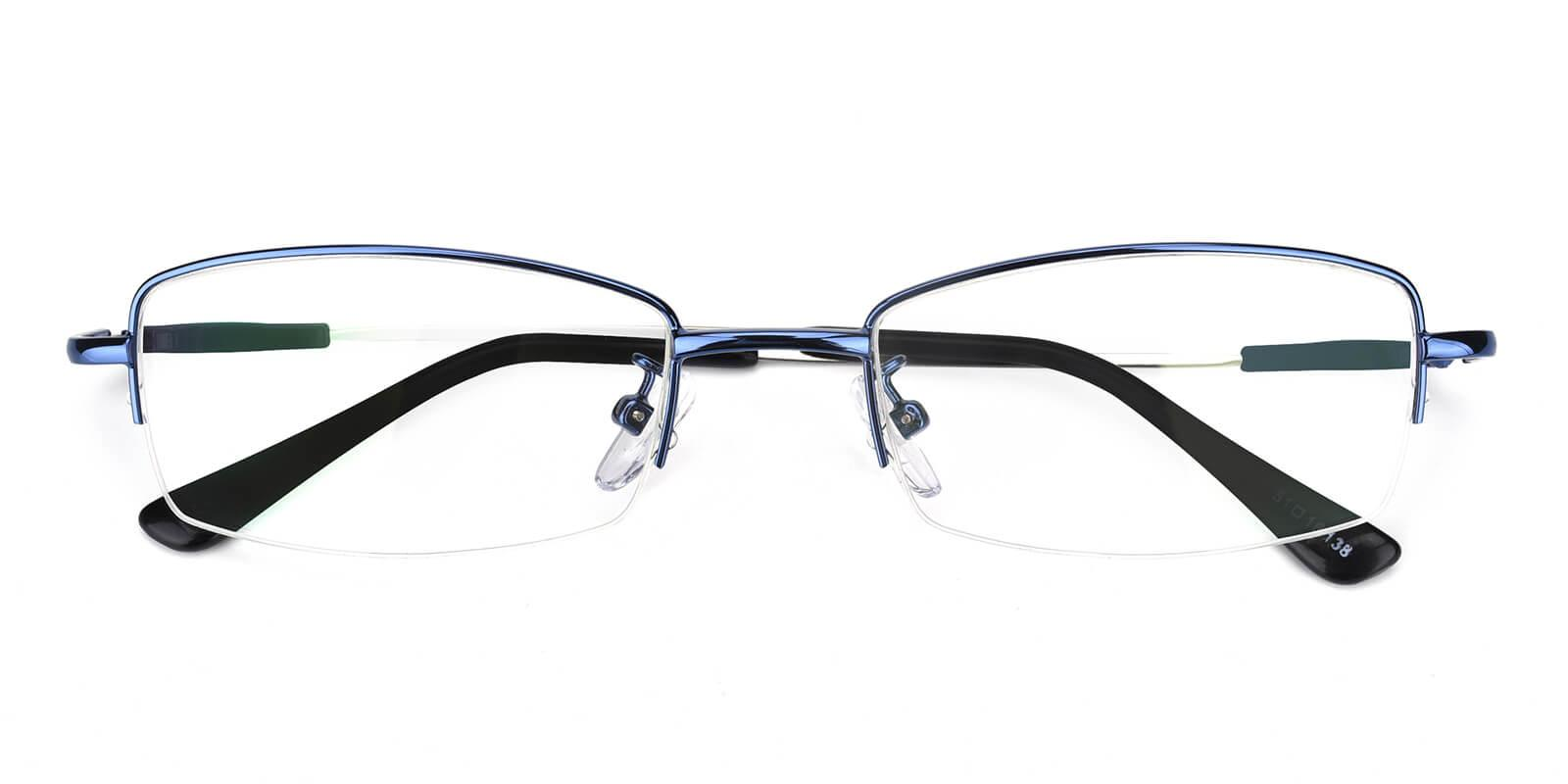 Healdton-Blue-Rectangle-Metal-Eyeglasses-detail