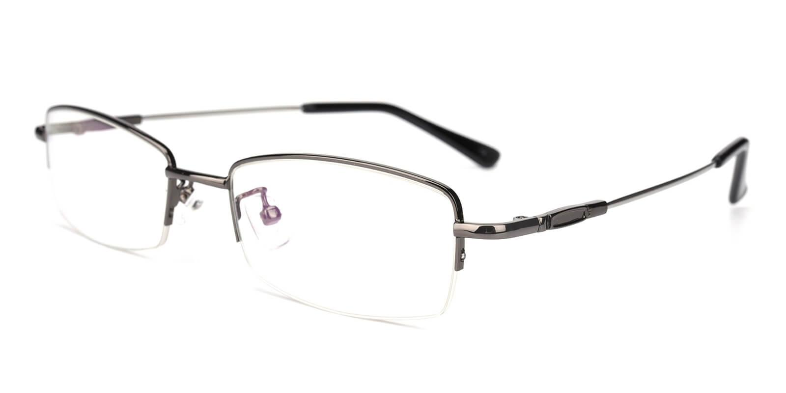 Healdton-Gun-Rectangle-Metal-Eyeglasses-detail