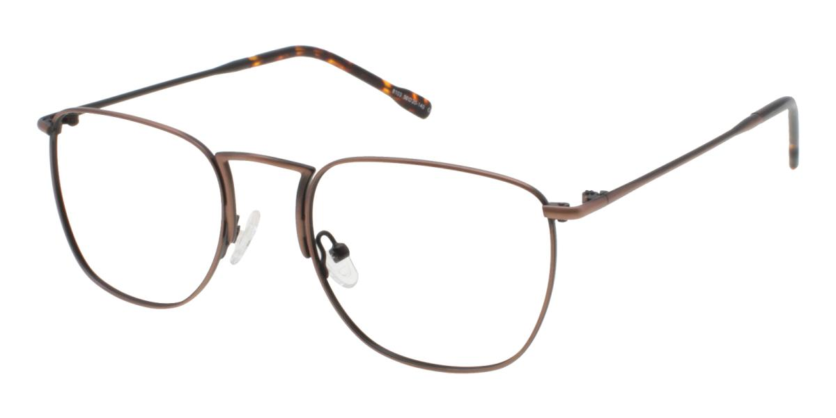 -Brown-Square-Metal-Eyeglasses-additional1
