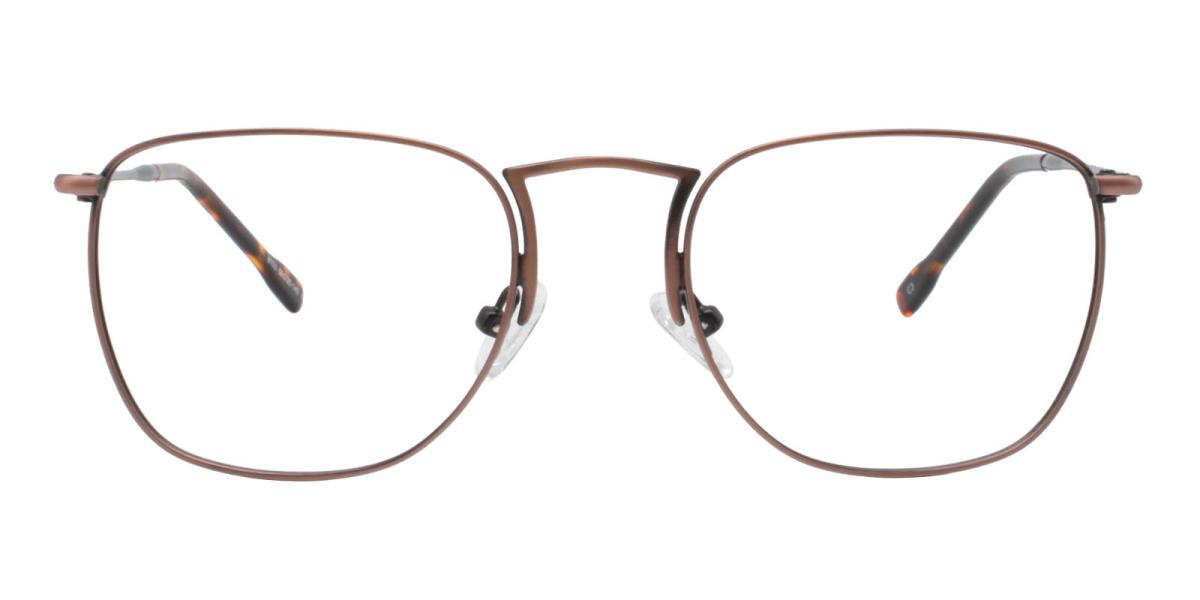 -Brown-Square-Metal-Eyeglasses-additional2