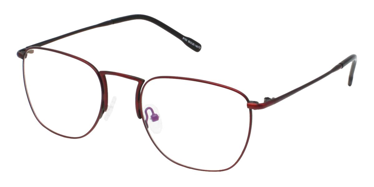 -Red-Square-Metal-Eyeglasses-additional1