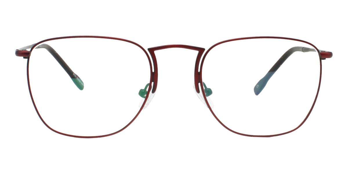 -Red-Square-Metal-Eyeglasses-additional2