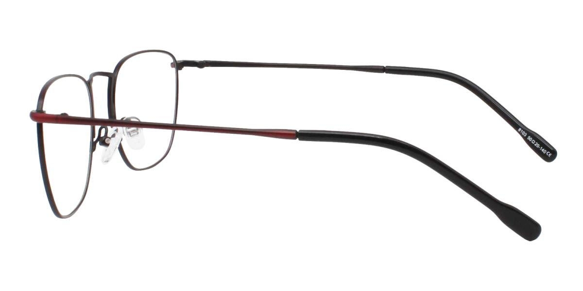-Red-Square-Metal-Eyeglasses-additional3