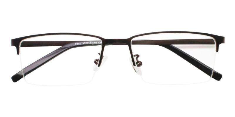 Bezel-Brown-Eyeglasses