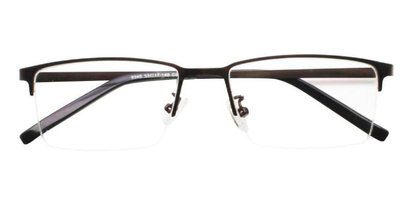 Bezel-Brown-Eyeglasses