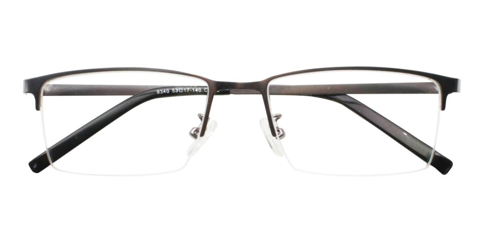 Bezel-Gun-Rectangle-Metal-Eyeglasses-detail