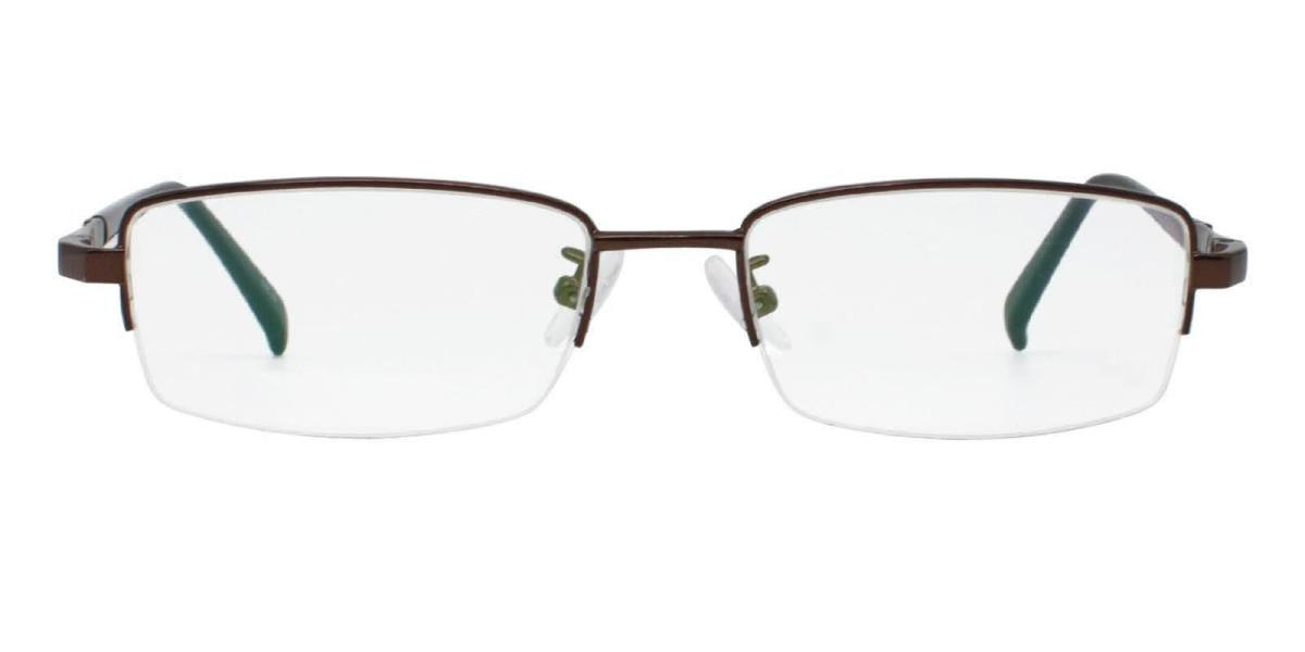 Furox-Brown-Rectangle-Metal-Eyeglasses-detail