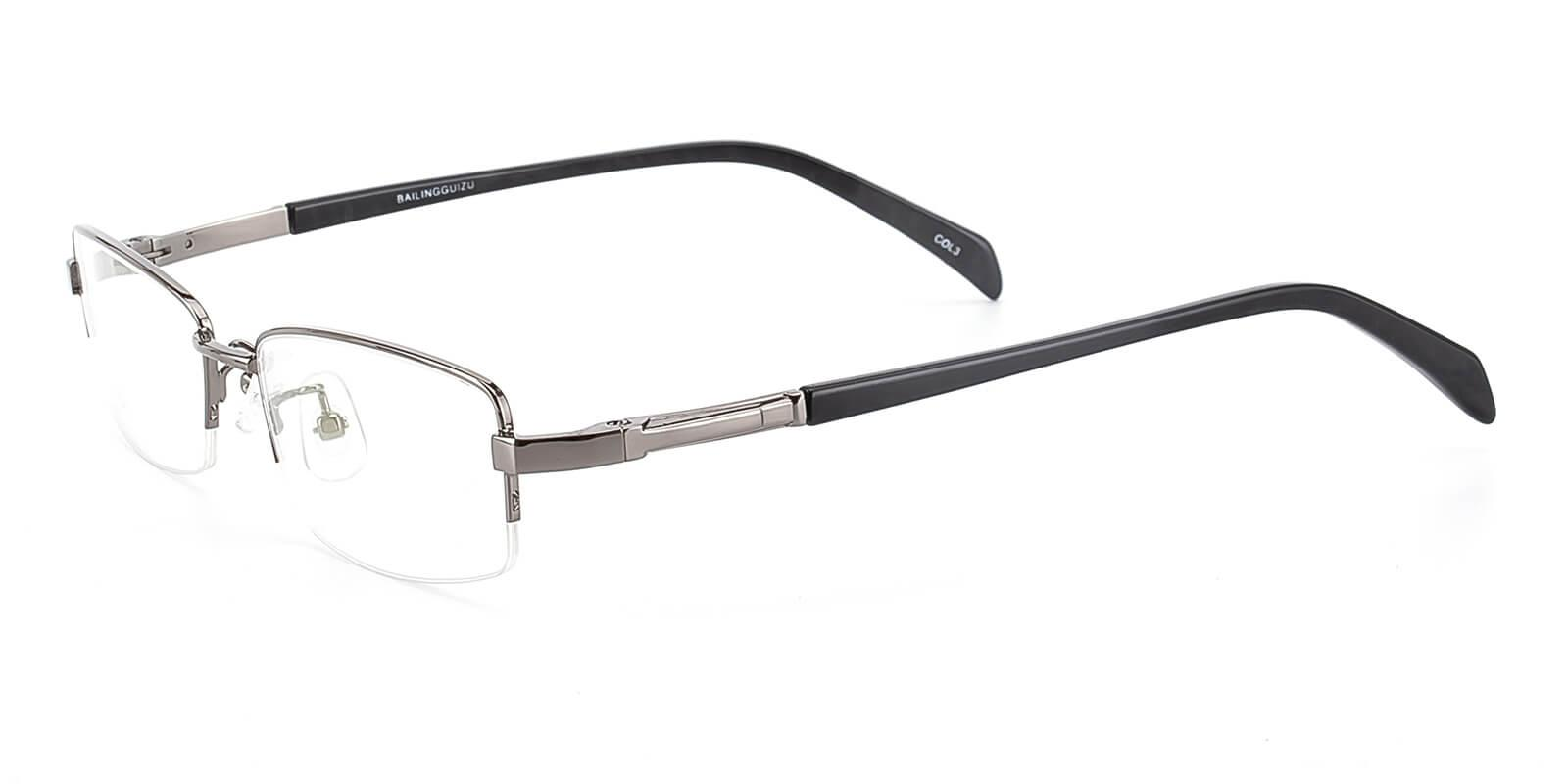 Furox-Gun-Rectangle-Metal-Eyeglasses-detail