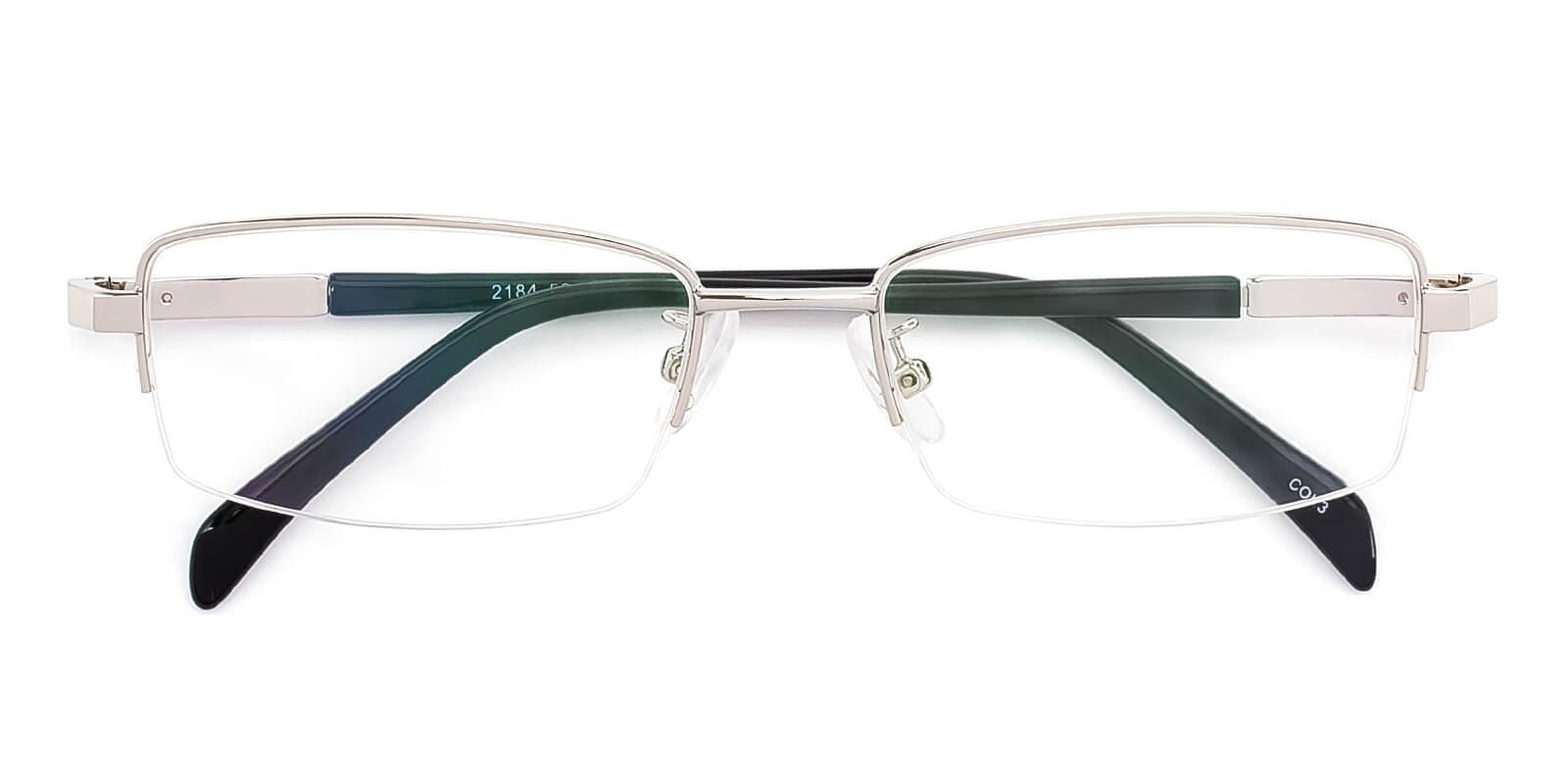 Furox-Silver-Rectangle-Metal-Eyeglasses-detail