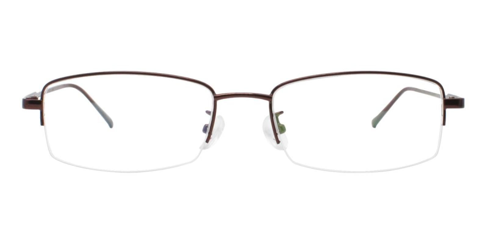 Germantown-Brown-Rectangle-Metal-Eyeglasses-additional2