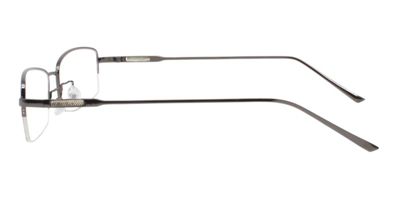 Germantown-Gun-Rectangle-Metal-Eyeglasses-detail
