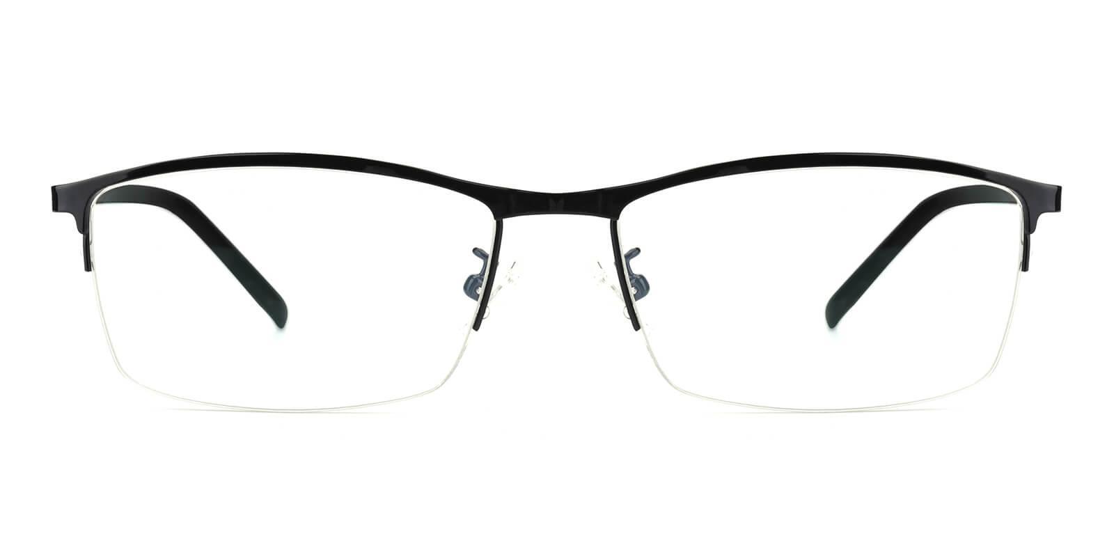 Elegant-Black-Rectangle-Metal-Eyeglasses-additional2