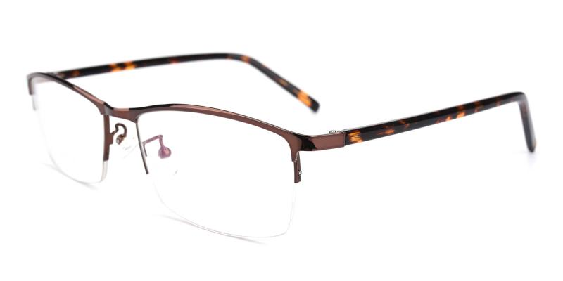 Elegant-Brown-Eyeglasses