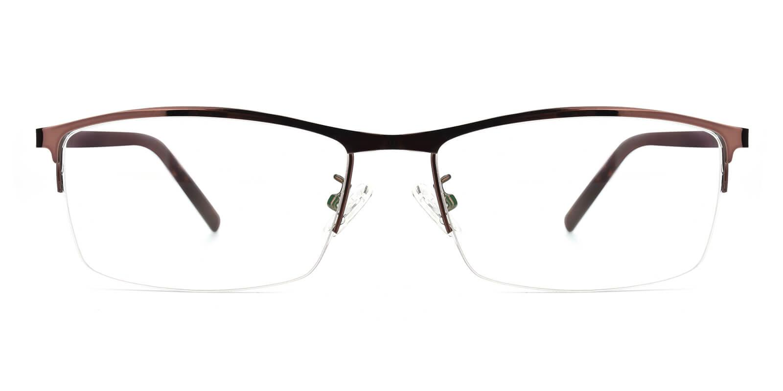 Elegant-Brown-Rectangle-Metal-Eyeglasses-additional2