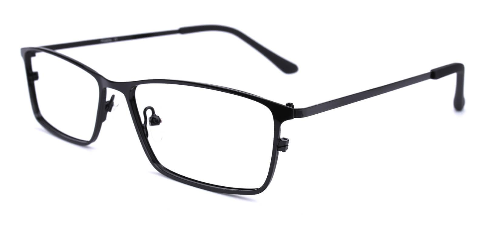 Wildfire-Black-Rectangle-Metal-Eyeglasses-additional1