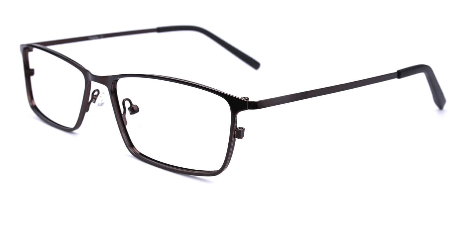 Wildfire-Brown-Rectangle-Metal-Eyeglasses-detail