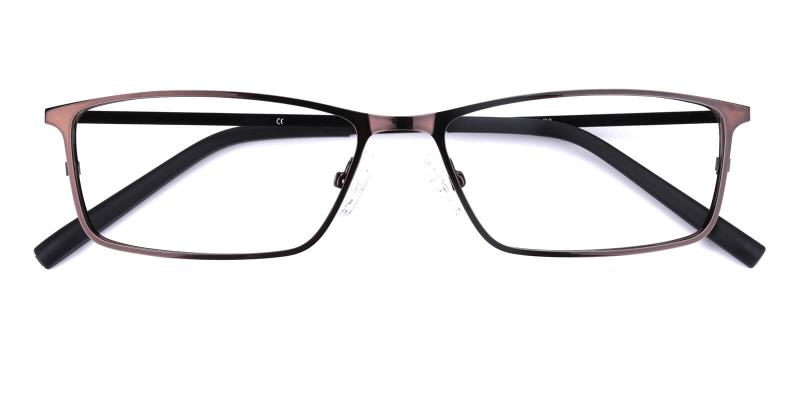 Wildfire-Brown-Eyeglasses / NosePads