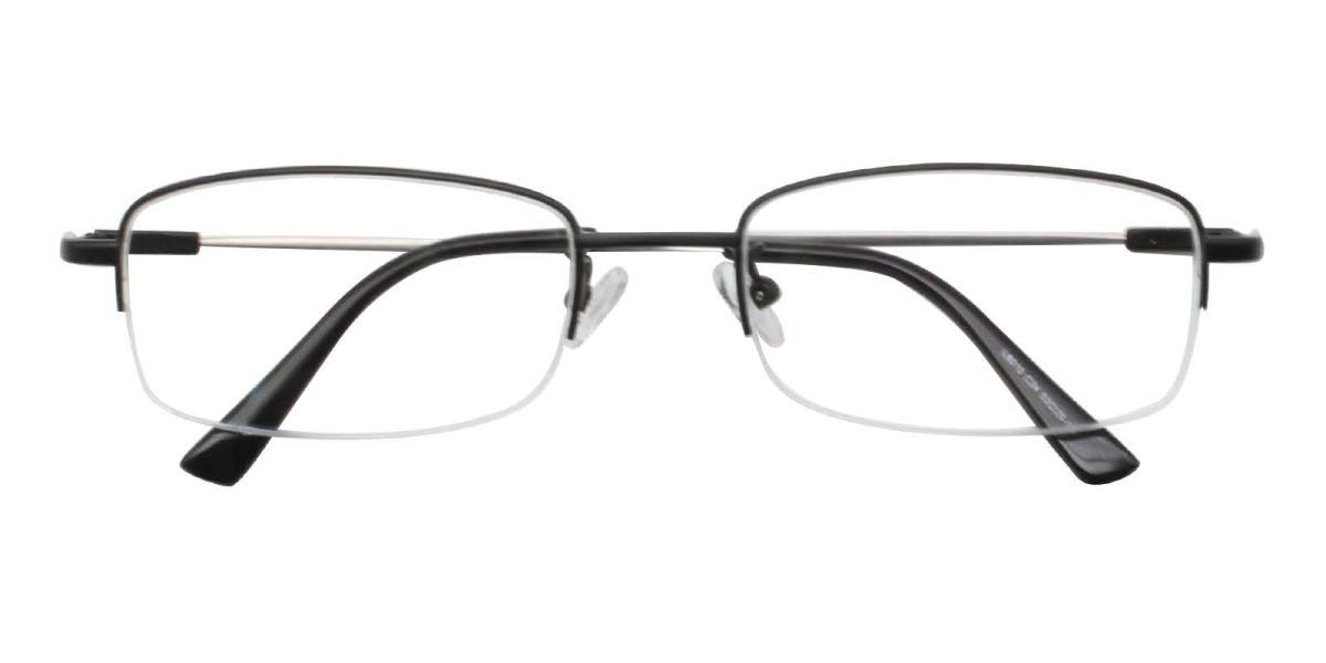 Limboda-Black-Rectangle-Metal-Eyeglasses-detail