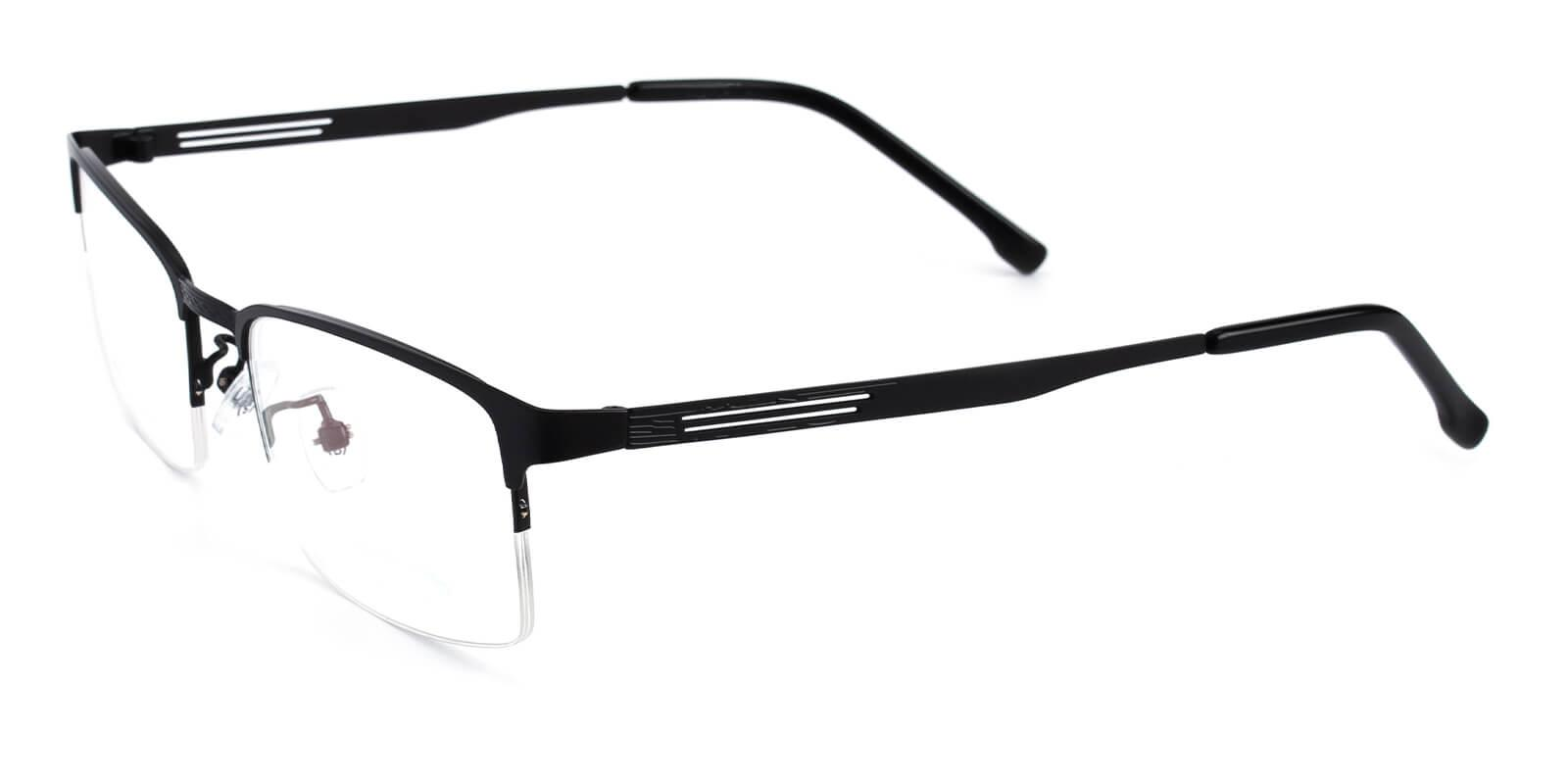 Emmptie-Black-Rectangle-Metal-Eyeglasses-additional1