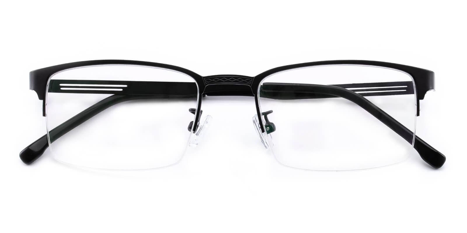 Emmptie-Black-Rectangle-Metal-Eyeglasses-detail