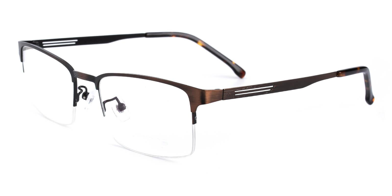 Emmptie-Brown-Rectangle-Metal-Eyeglasses-additional1