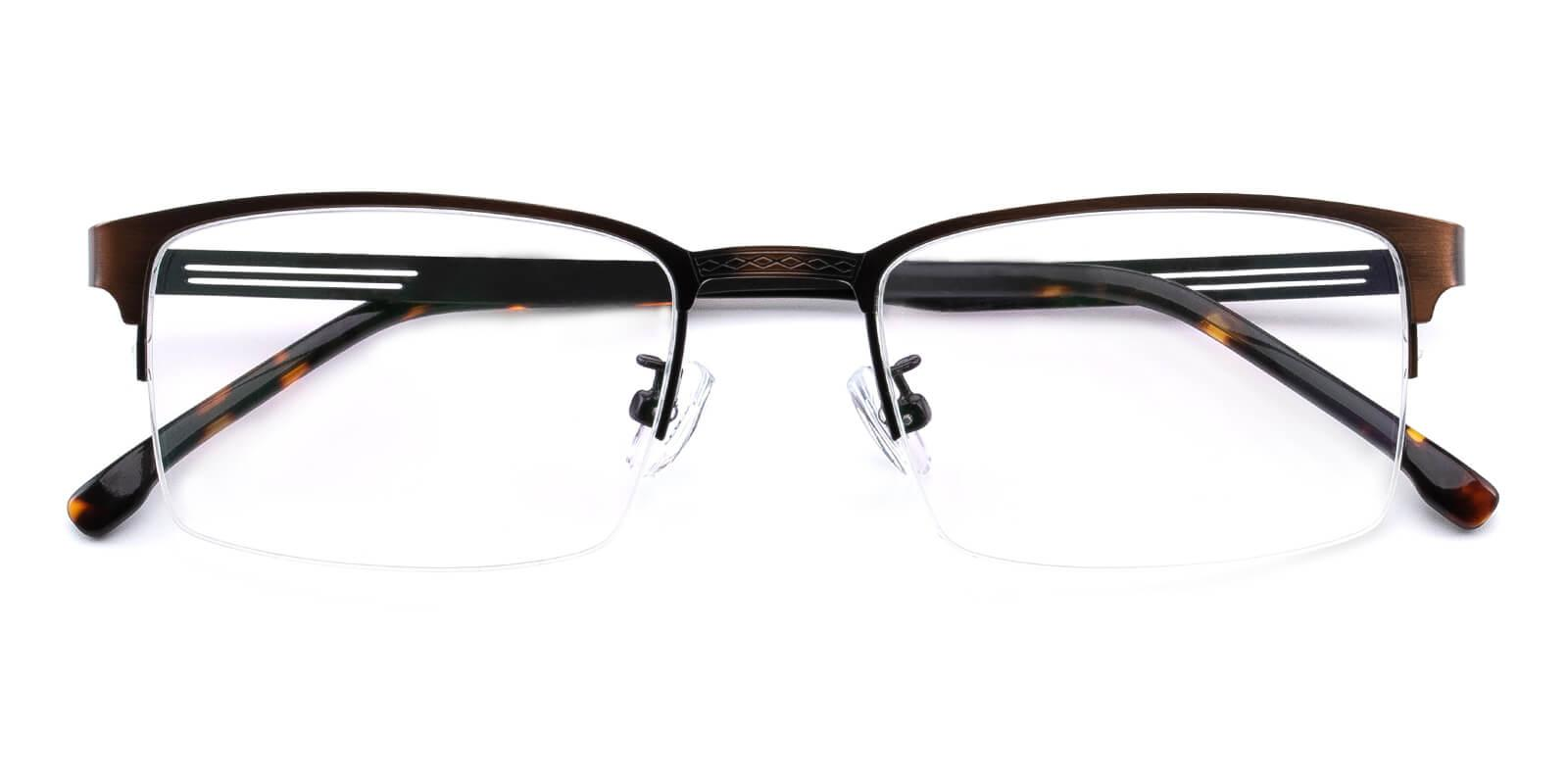 Emmptie-Brown-Rectangle-Metal-Eyeglasses-detail