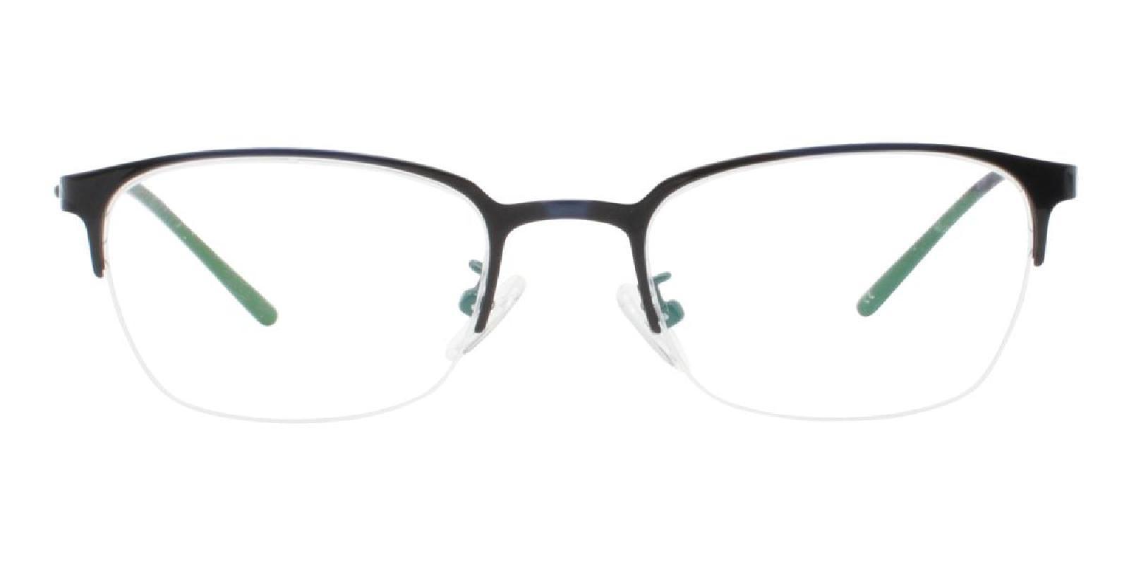 Wavain-Blue-Rectangle-Metal-Eyeglasses-detail