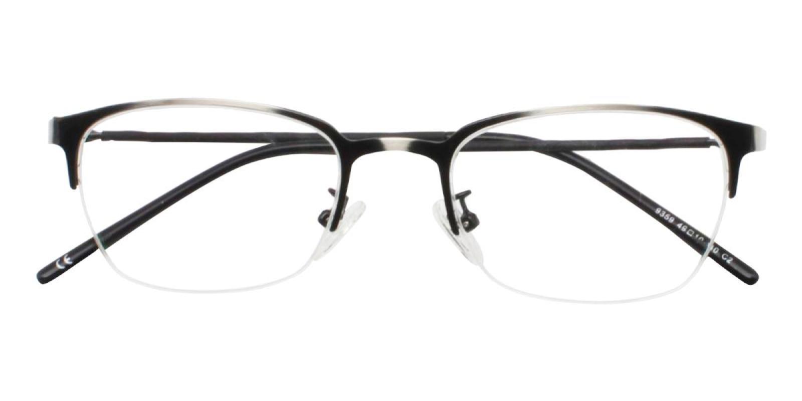 Wavain-Gun-Rectangle-Metal-Eyeglasses-detail