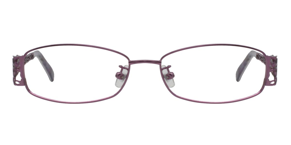 -Pattern-Rectangle-Metal-Eyeglasses-additional2