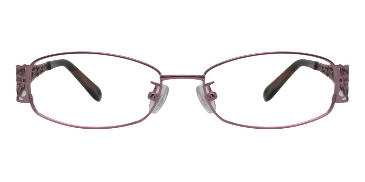 -Pink-Rectangle-Metal-Eyeglasses-additional2