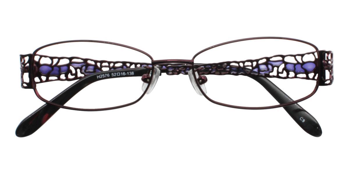 -Purple-Rectangle-Metal-Eyeglasses-additional2