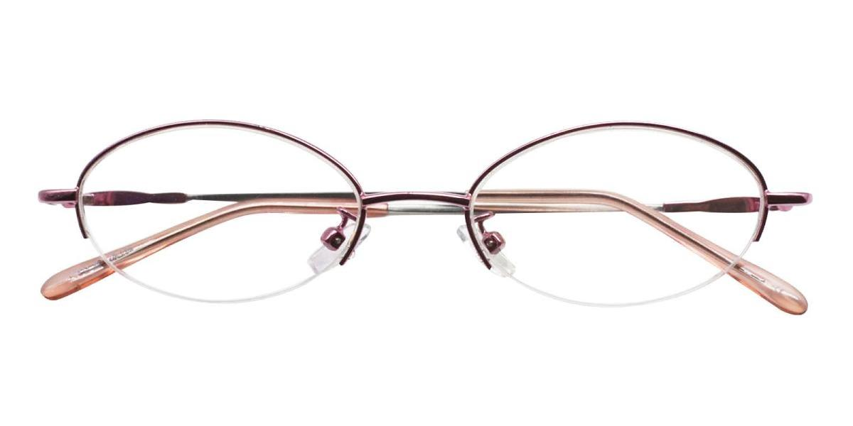 Anthony-Pink-Oval-Metal-Eyeglasses-detail