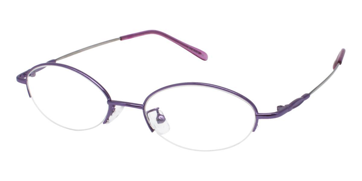 Anthony-Purple-Oval-Metal-Eyeglasses-additional1