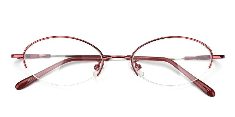 Anthony-Red-Eyeglasses