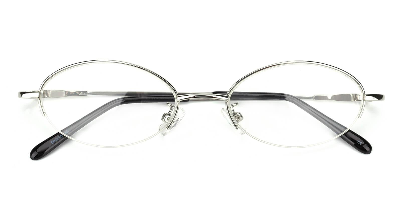 Anthony-Silver-Oval-Metal-Eyeglasses-detail